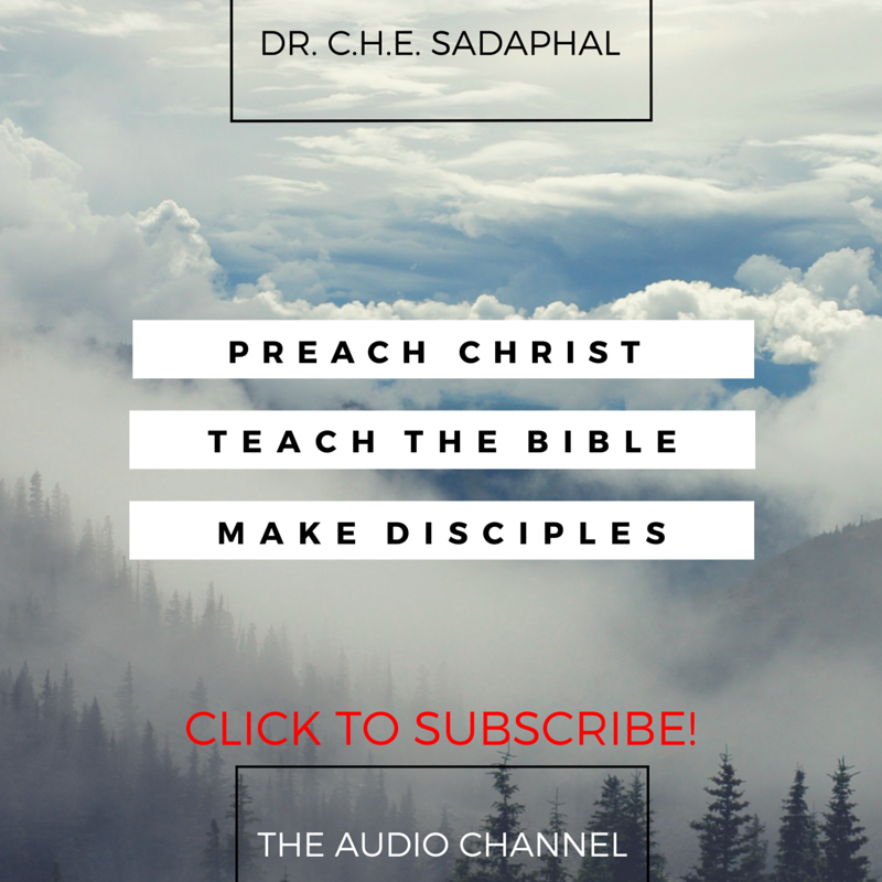 Dr. C. H. E. Sadaphal Podcast Promo Graphic