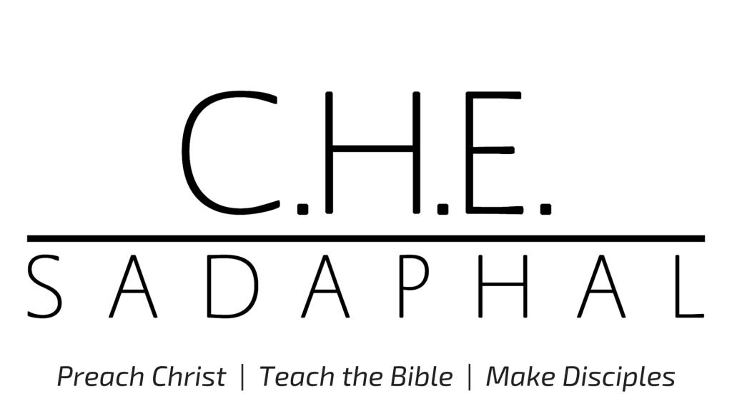 Dr. C. H. E. Sadaphal VP Logo