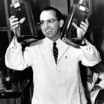 Dr. Jonas Salk, developer of the Polio vaccine.