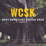 Sign Promise Money Holy Spirit Born Again Glory Sacrifice What Christians Should Know (#WCSK) Graphic by Dr. C.H.E. Sadaphal (What is Christianity, Who God Is, The Bible, Creation and Sin, Jesus Christ, Covenant, Grace and Stewardship, the Church, Regeneration, Worship)