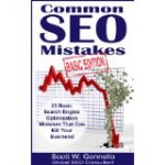 Common SEO Mistakes by Scott Gonnello Book Cover