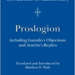 The Proslogion by Anselm Book Cover