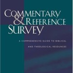 Commentary and Reference Survey Book Cover
