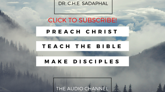 Dr. C.H.E. Sadaphal Audio Channel Podcast Graphic (#WCSK) (#WCSK2)