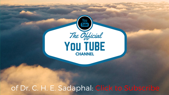 Dr. C.H.E. Sadaphal YouTube Channel (#WCSK) (#WCSK2)