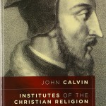 Institutes of the Christian Religion by John Calvin Book Cover