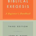 Biblical Exegesis by John H Hayes and Carl R Holladay Book Cover