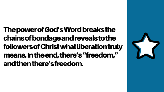 The Power of God's Word III_ Liberation Paul Silas Jailer Freedom Chains Acts 16