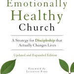 The Emotionally Healthy Church by Peter Scazzero Book Cover