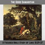 The Good Samaritan Lawyer Priest Levite Neighbor