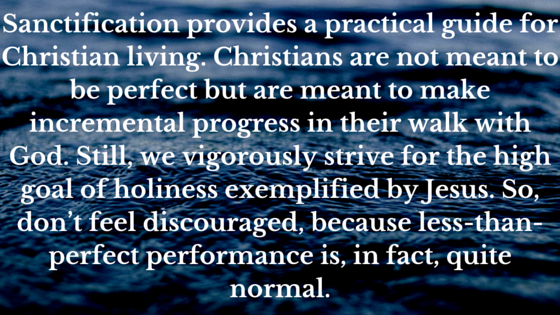 What Christians Should Know (#WCSK) Sanctification Christian Life Process Holiness Performance by Dr. C.H.E. Sadaphal
