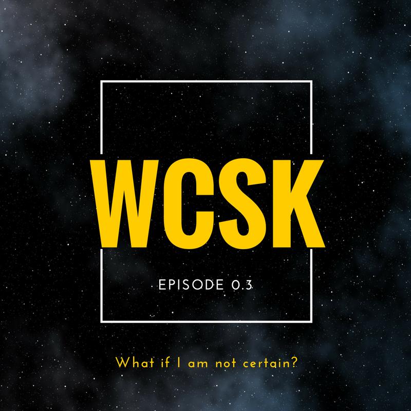 #WCSK Certainty Certain God Christians Uncertain