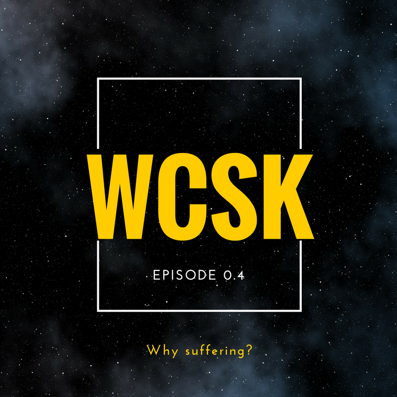 #WCSK Why suffering? Job