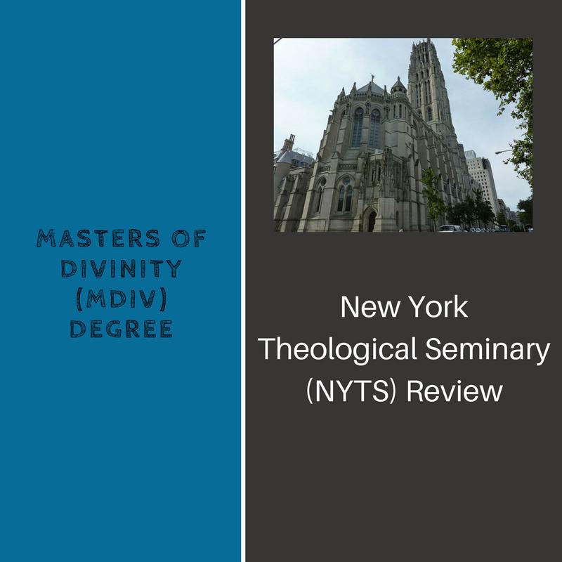 New York Theological Seminary (NYTS) Review of MDiv Program Seminary