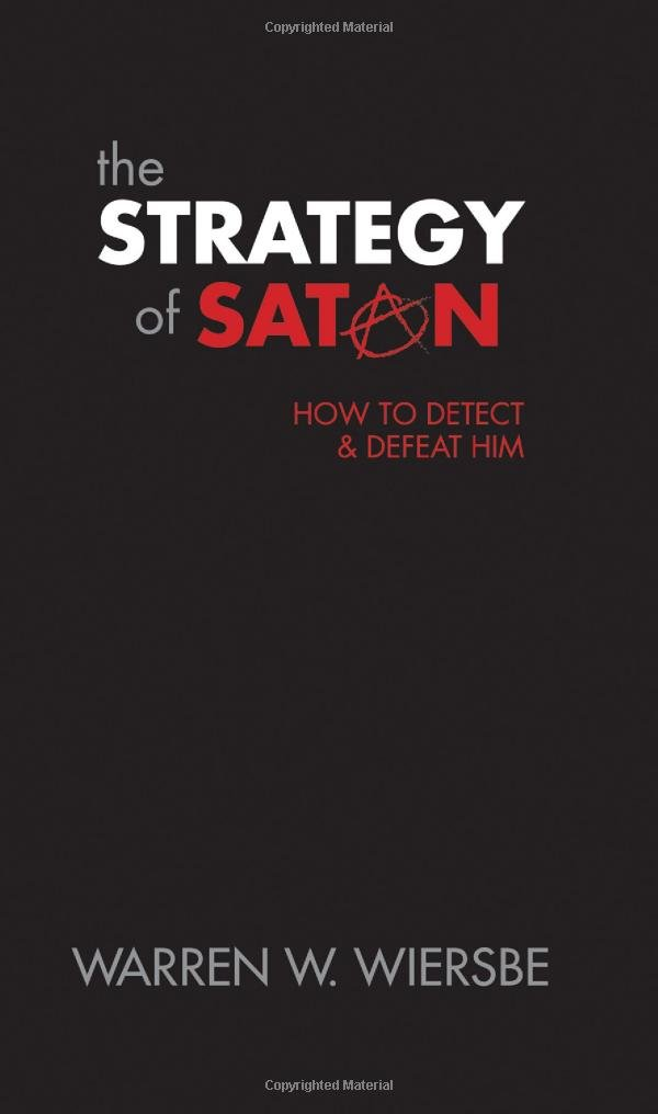 Strategy of Satan Book Cover by Wiersbe